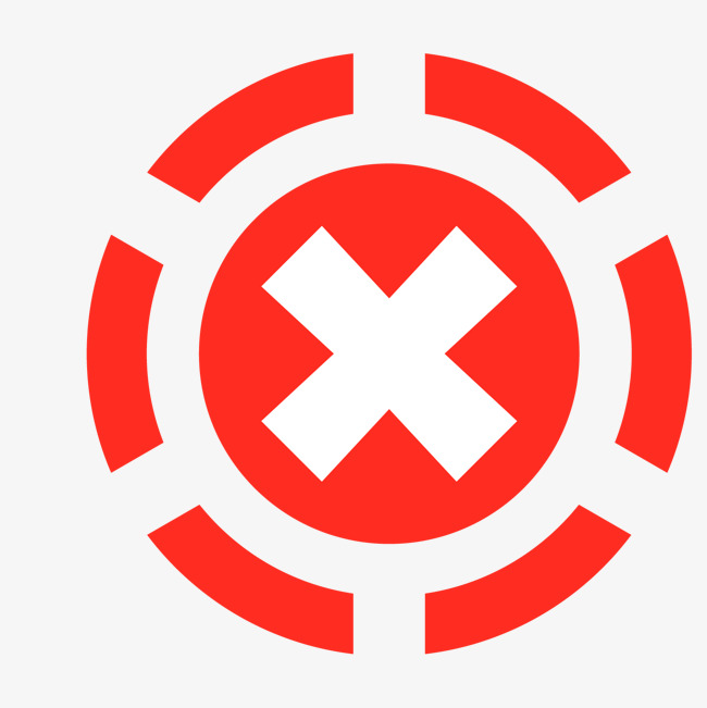 650x651 Dotted Line Red Circle X Type No Vector Material, Line Vector