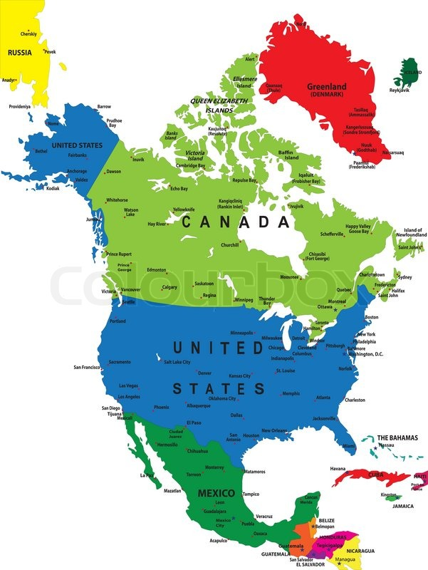 American Map Vector.North America Map Vector At Getdrawings Com Free For Personal Use