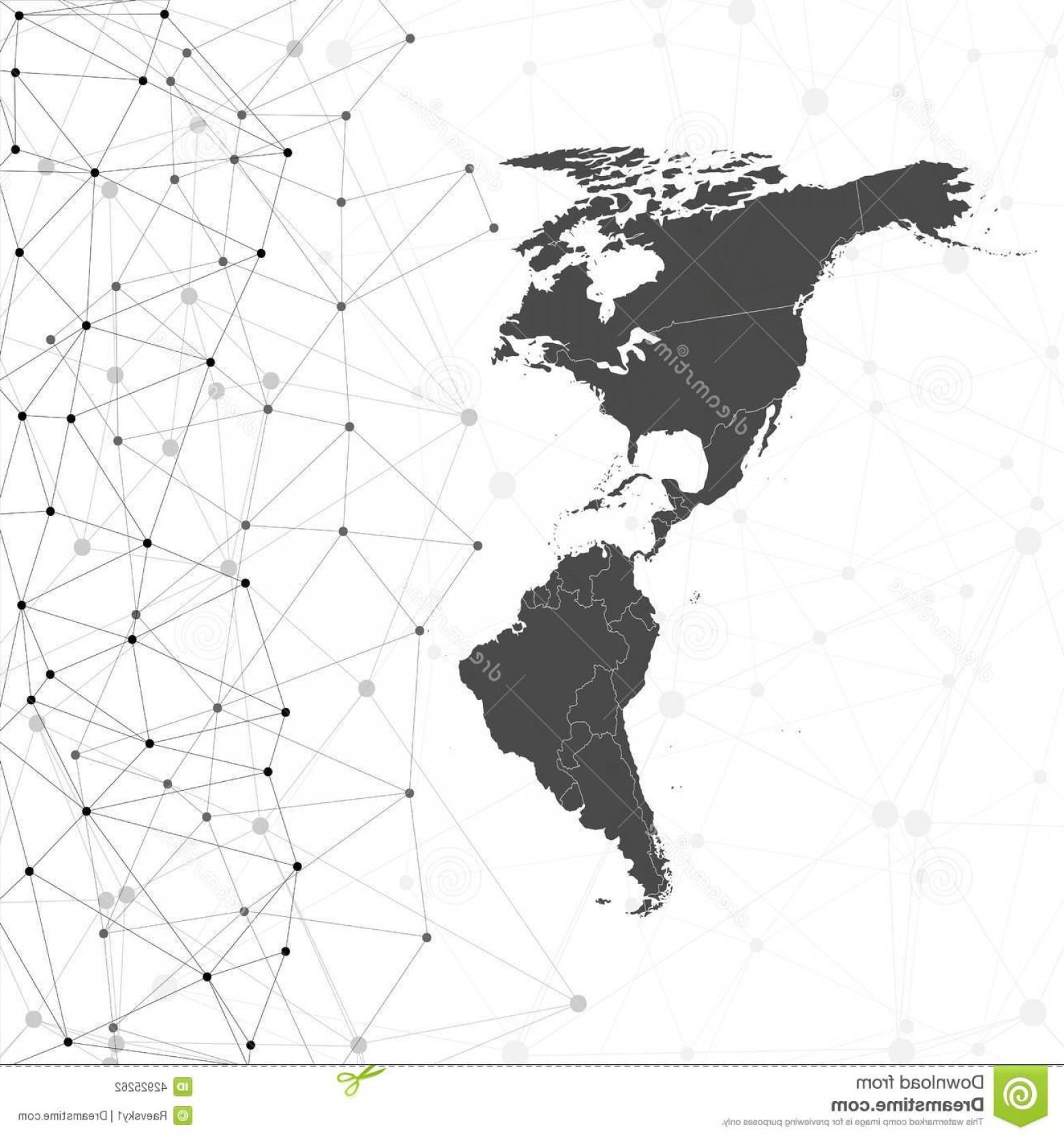 1560x1668 Vector Map North America Shopatcloth