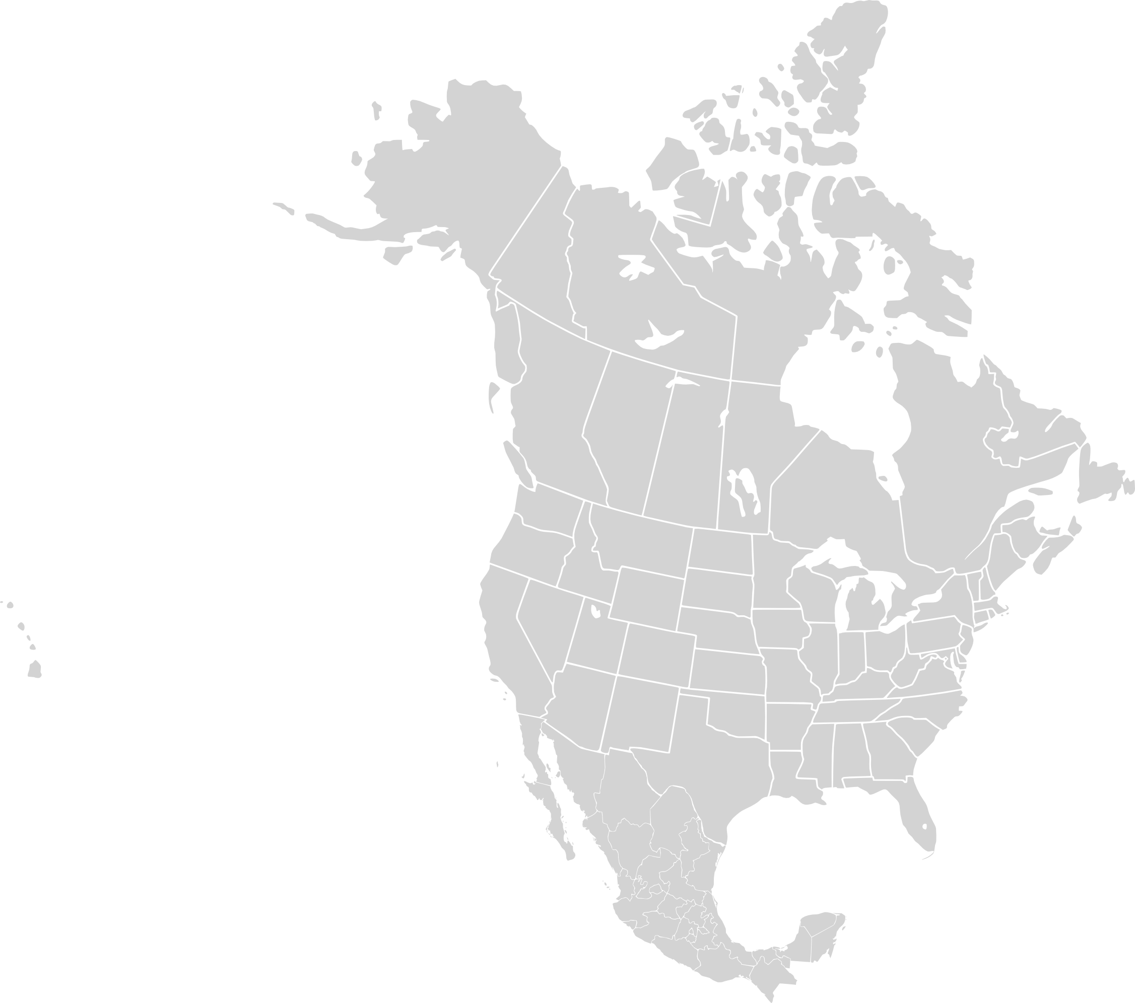 North America Vector