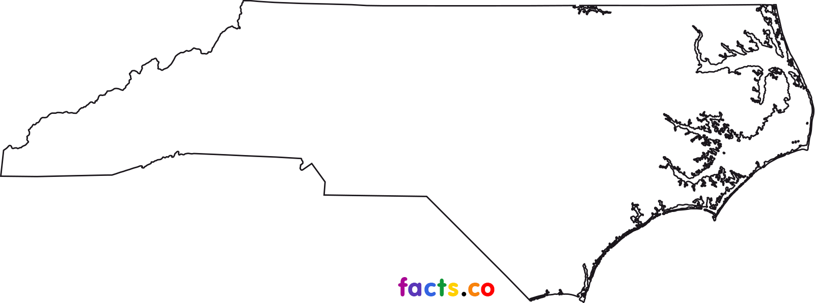 1600x596 North Carolina Clipart North Carolina Outline Png