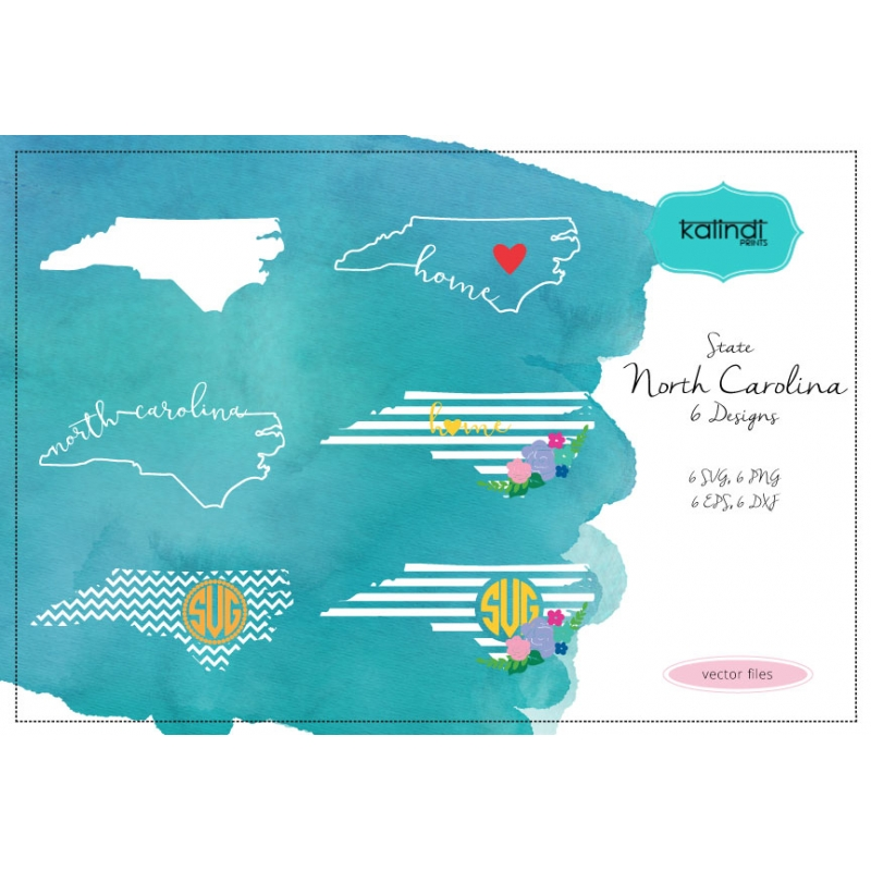 800x800 North Carolina State Svg, Nc Vector File, North Carolina Svg File