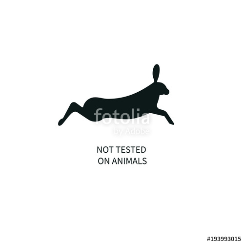 500x500 Icon Not Tested On Animals Stock Image And Royalty Free Vector