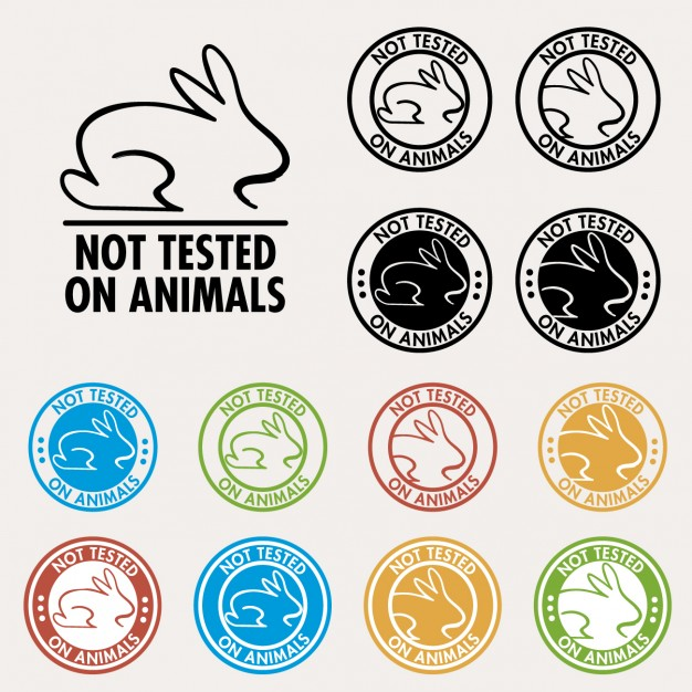 626x626 Not Tested On Animals Seals Vector Free Download