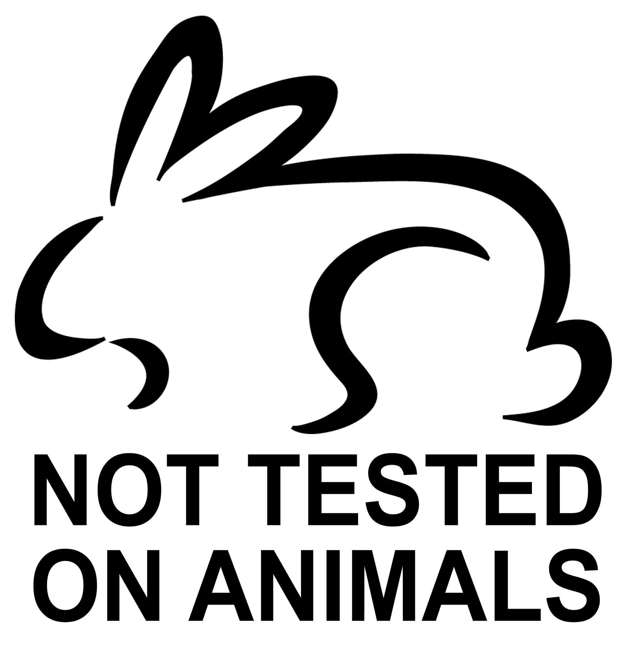 2117x2226 Not Tested On Animals Logos
