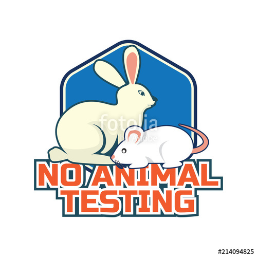500x500 Not Tested On Animals, Cruelty Free, No Animal Testing Logo For