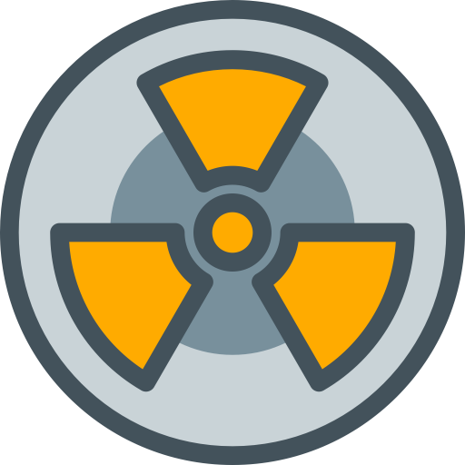 512x512 Nuclear Symbol, Nuclear, Radiation Icon Png And Vector For Free