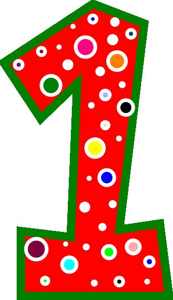Number 1 Vector