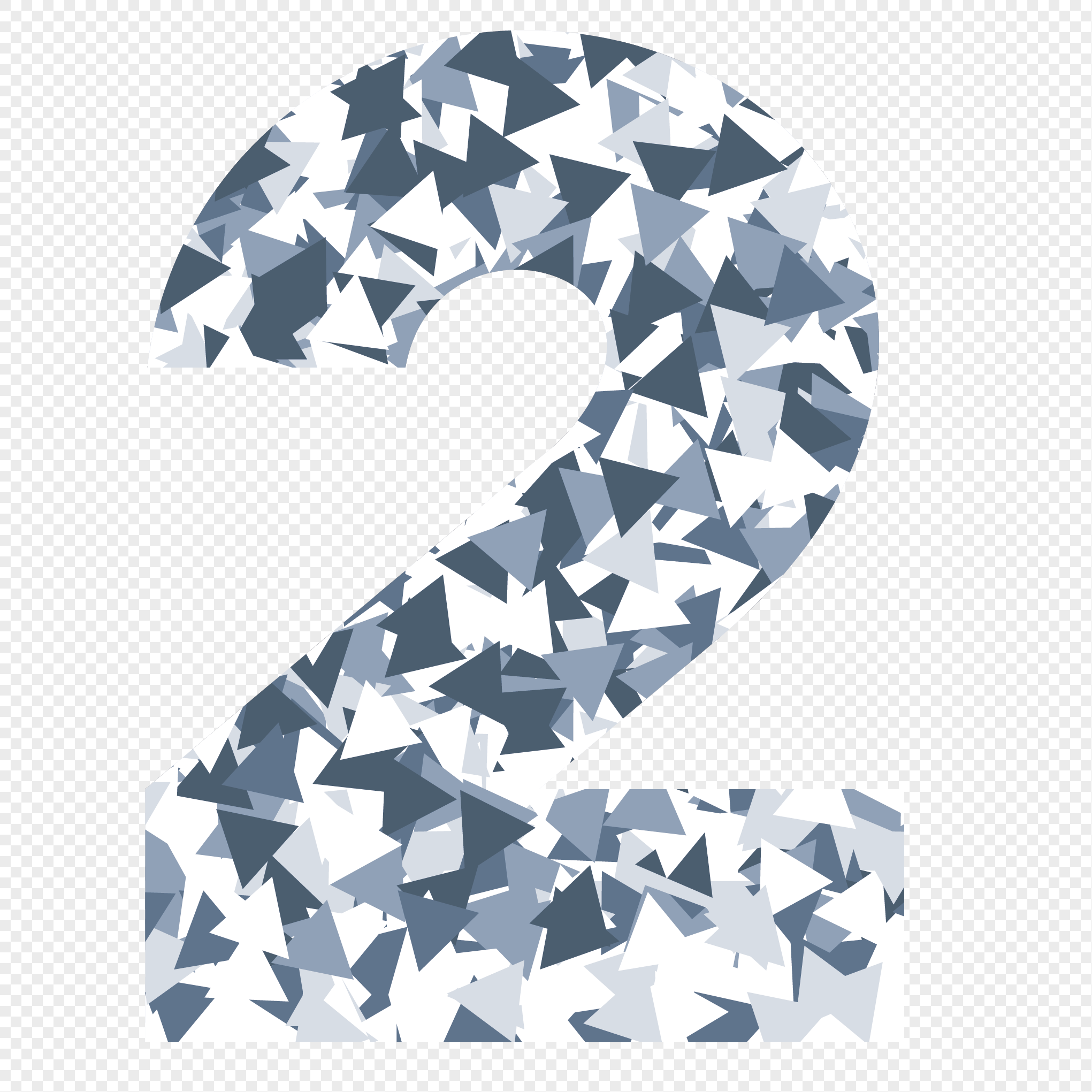 2041x2041 Lattice Diamond Number 2 Vector Element Png Image Picture Free