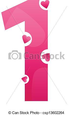 297x470 Love Number One. Number One Love Number Set.