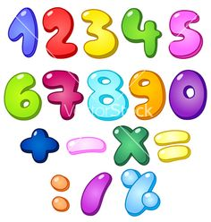 236x248 7 Best Number Vector Graphics Images Number Vector