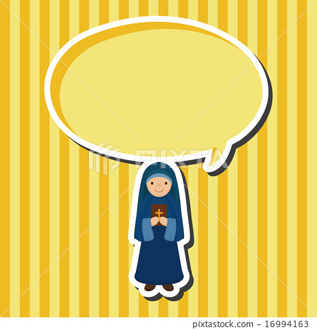 450x468 Nun, Vector, Prayer