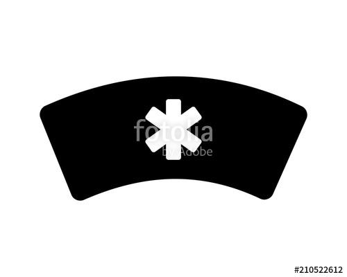 500x400 Nurse Hat Silhouette Medical Medicare Health Care Pharmacy Clinic