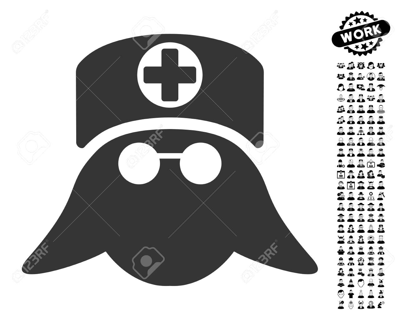 Nurse Logo Vector