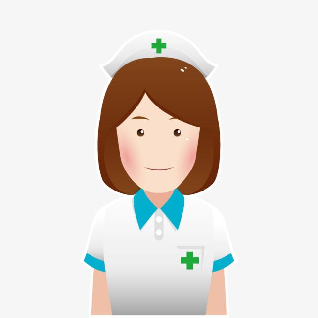 650x651 Free Stock Vector Cartoon Nurse Hd, Cartoon Vector, Nurse Vector