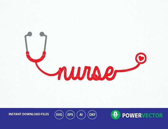 570x440 Nurse Svg, Word Art Svg Nurse. Stethoscope Svg, Stethoscope, Nurse