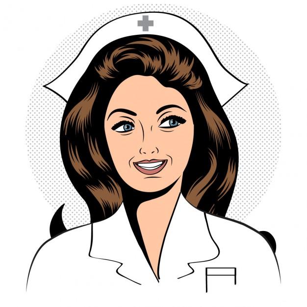 626x626 Nurse Vector Free Download