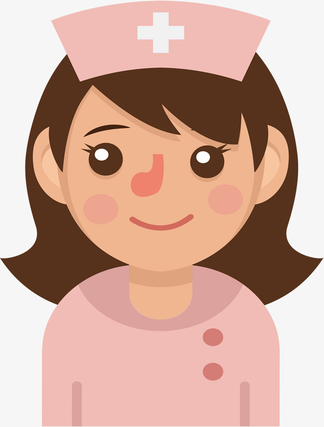 650x856 Pink Nurse, Vector Png, Nurse, Female Nurse Png And Vector For