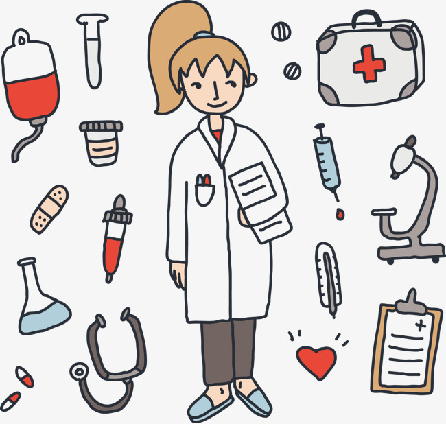 650x618 Vector Nurse, Nurse Vector, Nurse, Vector Png And Vector For Free