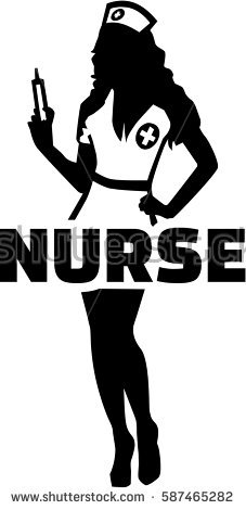 227x470 Collection Of Nursing Silhouette Download Them And Try To Solve