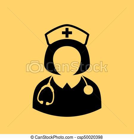 450x470 Nurse Vector Icon. Nurse Vector Avatar Icon.