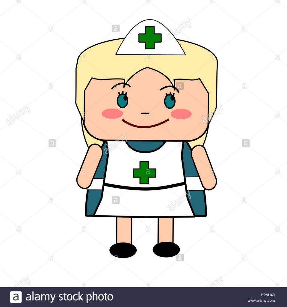 958x1024 Secrets Cartoon Nurse Images In Traditional Uniform Stock Vector