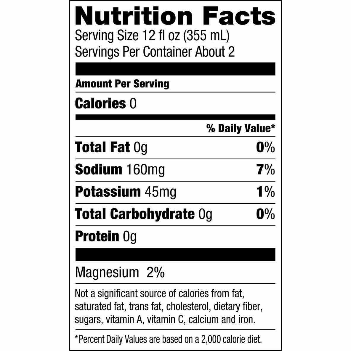 1185x1185 Nutrition Facts Blank Vector Color Stock Shutterstock Label