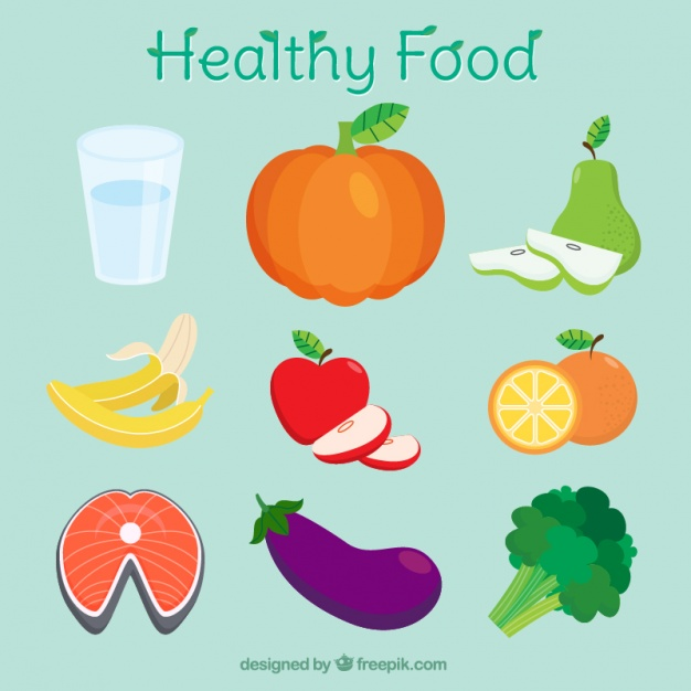 626x626 Healthy Foods For Good Nutrition Vector Free Download