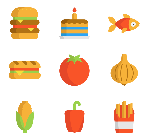 600x564 Nutrition Icons