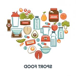 300x300 Sport And Fintess Healthy Food Nutrition Vector Arenawp