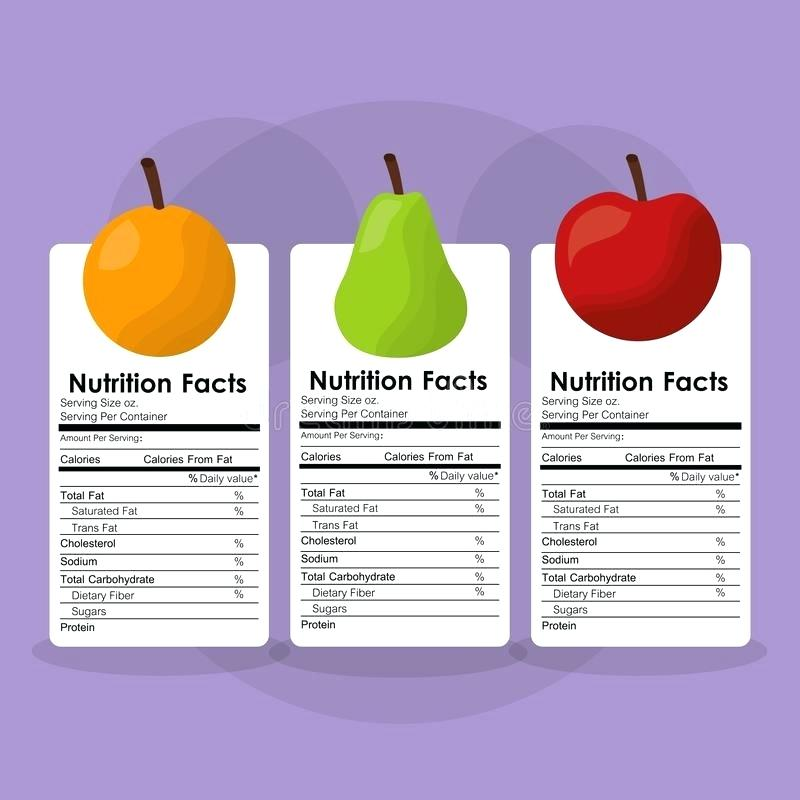 800x800 Download Fruits Healthy Food Nutrition Facts Label Benefits Stock