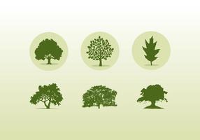 286x200 Oak Tree Free Vector Art