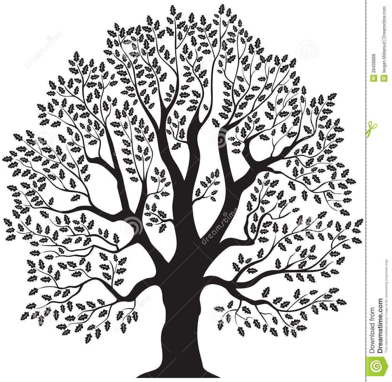 1335x1300 Free Clipart Oak Tree Amp Free Clip Art Oak Tree Images