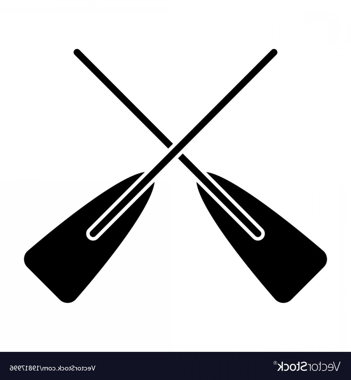 1200x1296 Two Wooden Crossed Boat Oars Sport Vector Arenawp