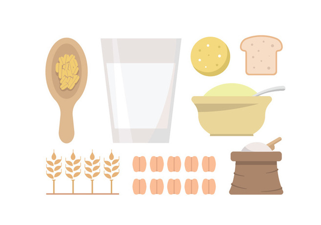 632x443 Oatmeal And Grain Vectors Free Vector Download 398179 Cannypic