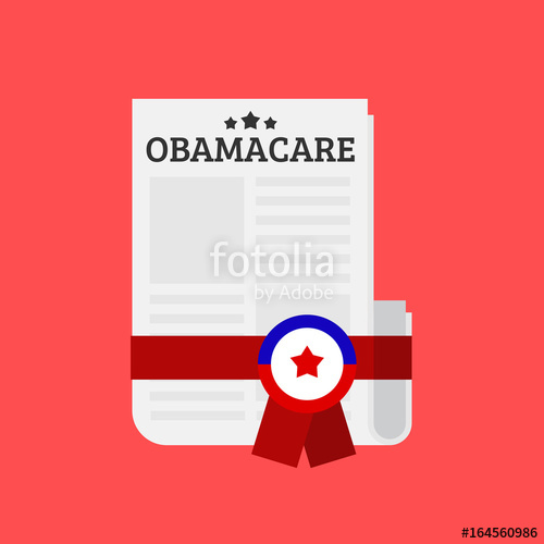 500x500 Obamacare Bill Vector Illustration Stock Image And Royalty Free