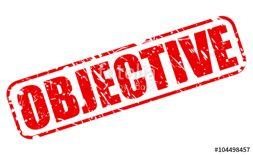 500x307 Objective Red Stamp Text Stock Image And Royalty Free Vector