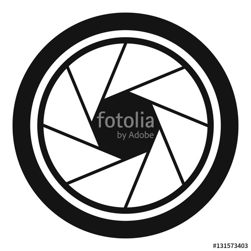 500x500 Photographic Objective Icon. Simple Illustration Of Photographic