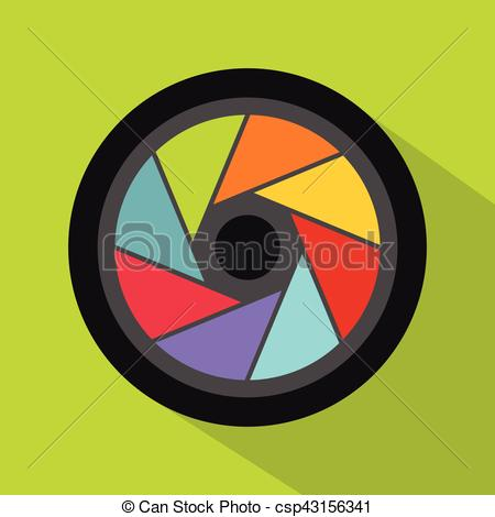 450x470 Small Objective Icon, Flat Style. Small Objective Icon. Flat