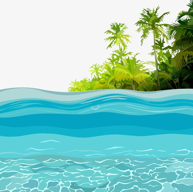 650x646 Vector Ocean, Ocean, Sea Island, Vector Png And Vector For Free