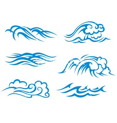 Ocean Wave Vector Free Download