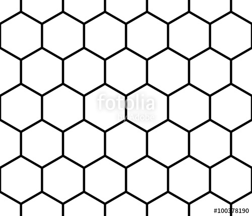 500x429 Seamless Monochrome Pattern, Background With Octagon Shapes