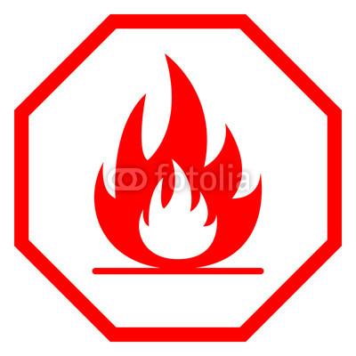 400x400 Fire Hazard Sign. Octagon. Vector. Buy Photos Ap Images