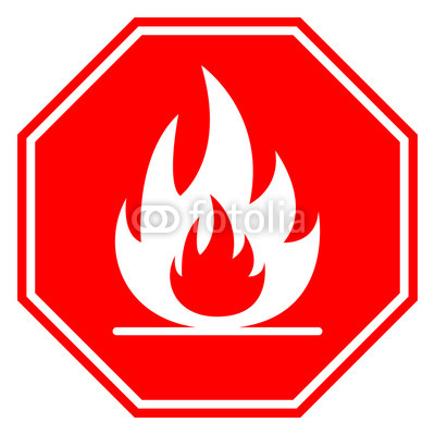 400x400 Flammable Sign. Octagon. Vector. Buy Photos Ap Images Detailview
