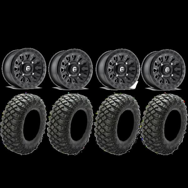 600x600 Fuel Off Road Vector Pro Armor 30 Crawler Xg Tire Bundle Xtr