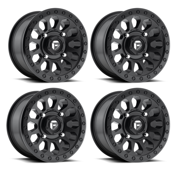 600x600 Fuel Off Road Vector D579 14x7 Wheel 4x156 Polaris