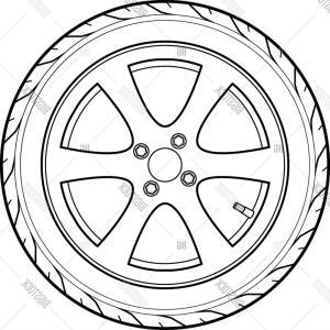 300x300 Off Road Tires Wheel Vector Arenawp