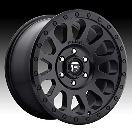 425x425 Fuel Offroad Vector Black Wheel (178.5'65.5inches