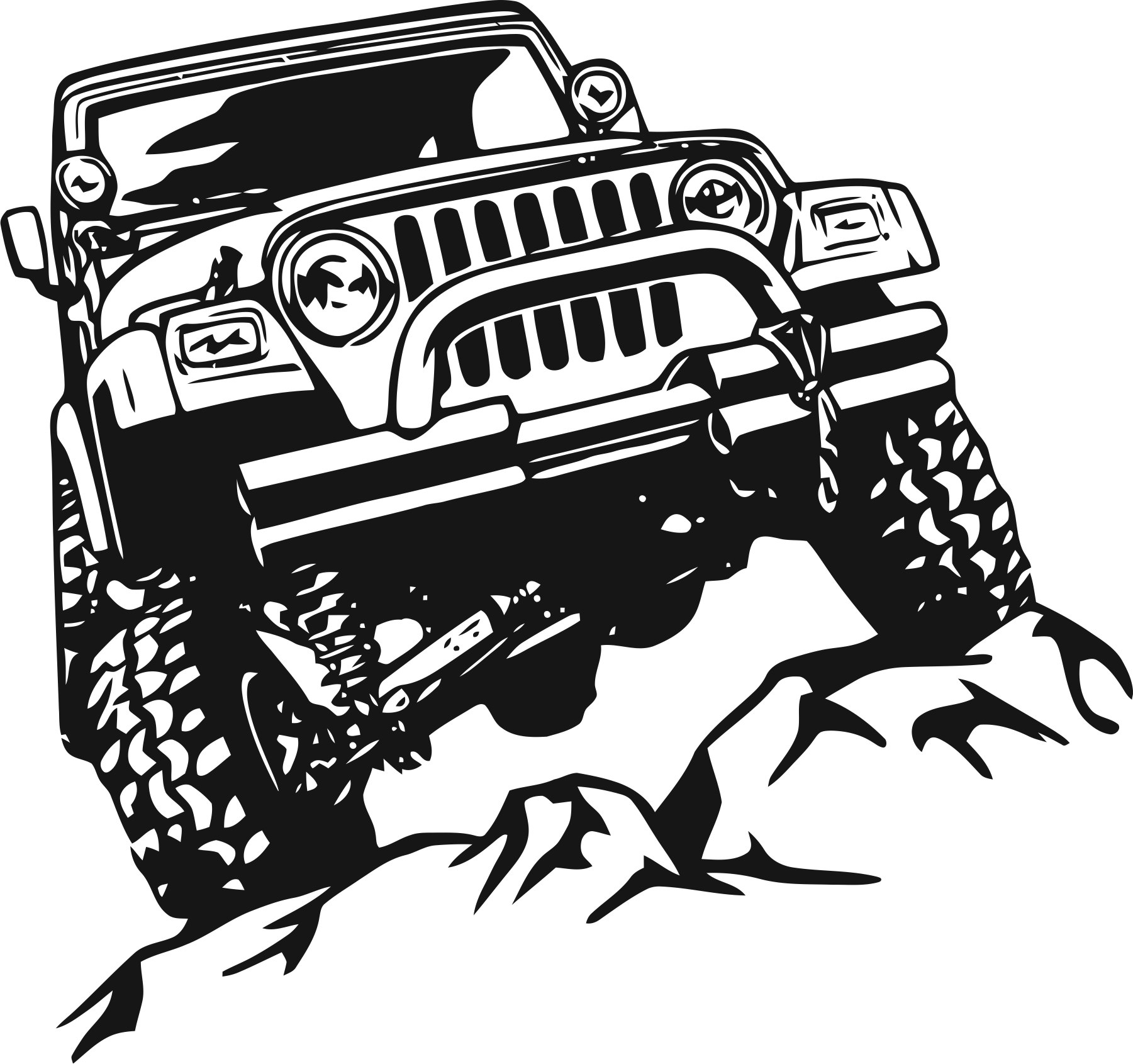 1801x1691 Offroad Sticker Free Vector Download