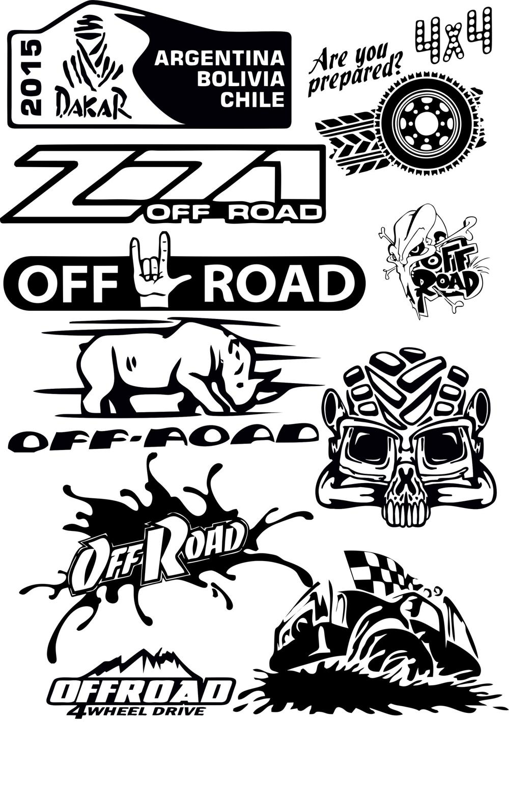 1000x1574 Offroad Vector Pack Free Vector Download
